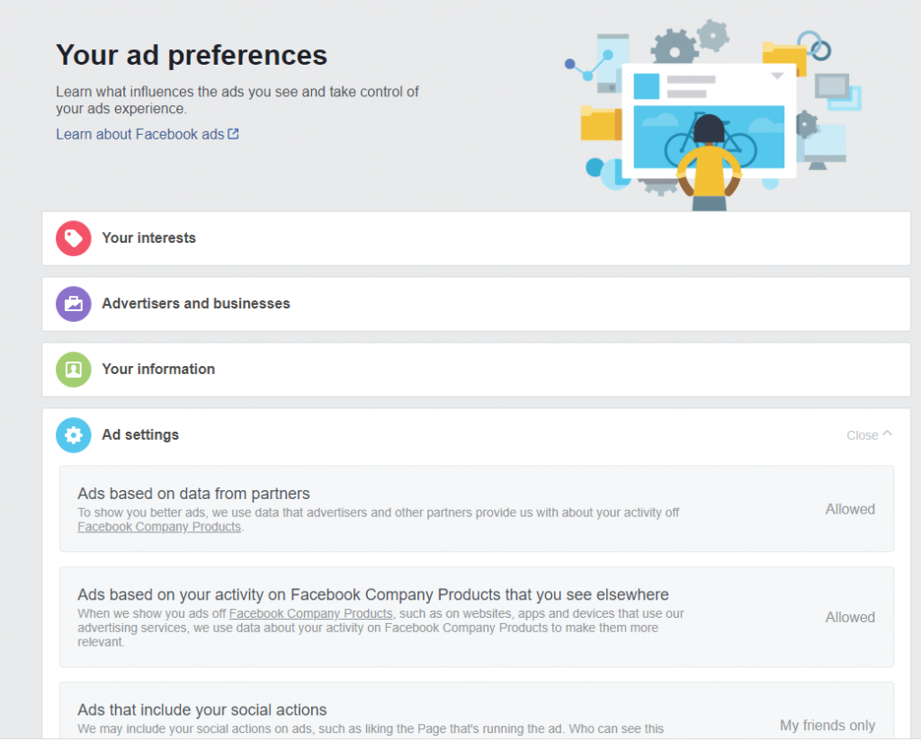 Edit Your Ad Preferences