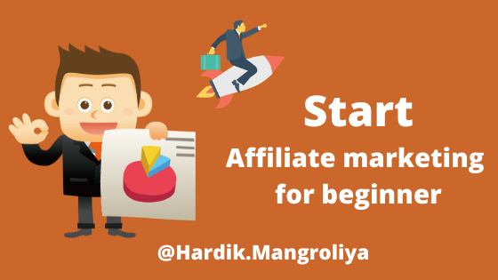 Start Affiliate Marketing for Beginner