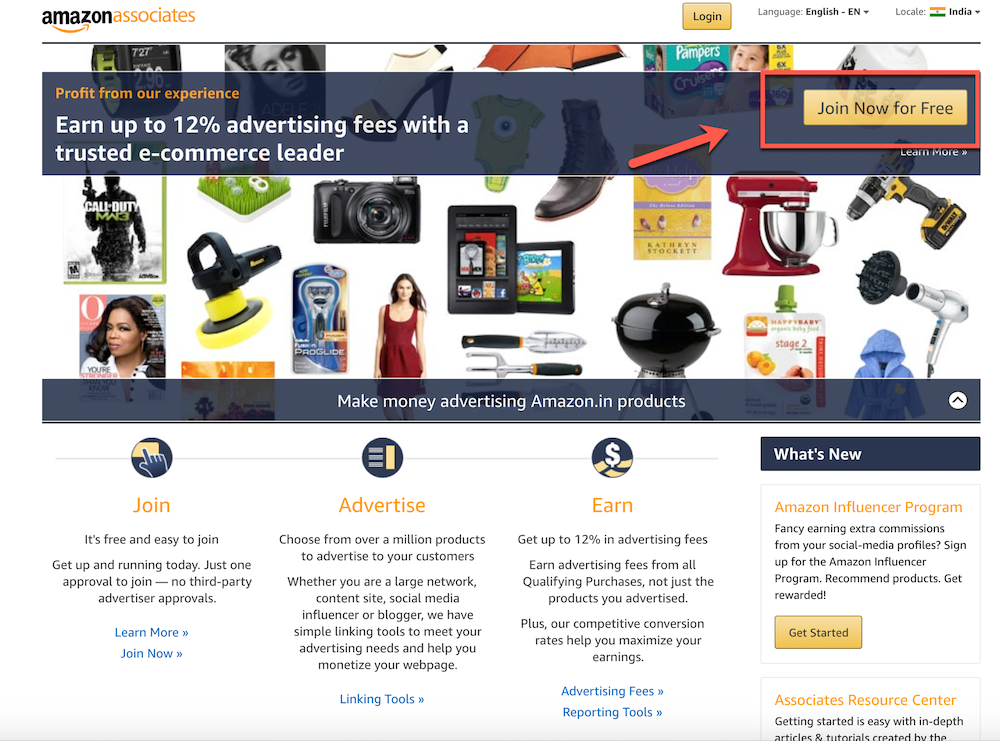 Create-Amazon-affiliate-account