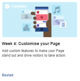 Customise your Page