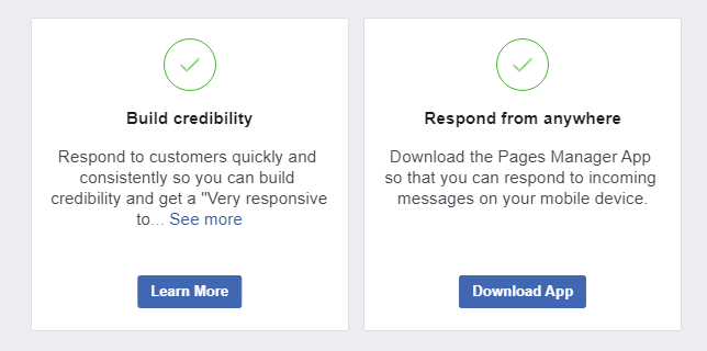 Use Messenger to connect with Page visitors